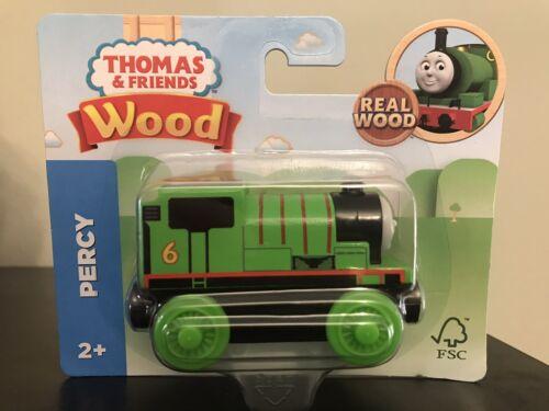 PERCY Thomas Tank Engine /& Friends WOODEN Railway BRAND NEW  Wood Train