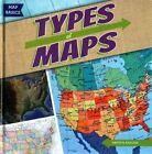 Types of Maps 9781482410631 by Kristen Rajczak Hardback