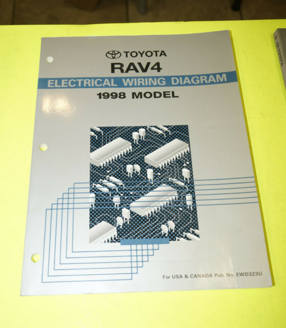 1998 Toyota Rav4 Oem Evtm Electrical Wiring Diagram