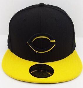 0962b256c6d60 Cincinnati Reds logo MLB New Era 59FIFTY fitted hat baseball cap ...