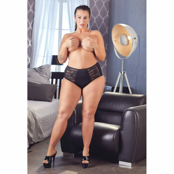 "Sexy Plus Size Damen Slip L XL 2XL 3XL 4XL Spitze Dessous Reizwäsche ""Francis"""