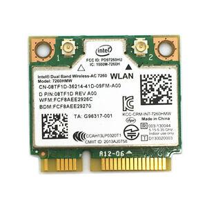 Dell-Latitude-E7440-E7240-WIFI-DualBand-Wireless-AC-7260-8TF1D-7260HMW-WLAN-Card