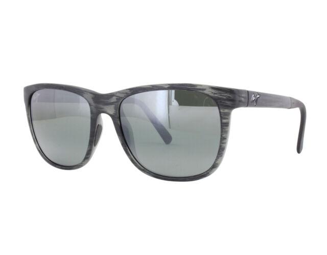 ea35a132fa51 Maui Jim Sunglasses Unisex MJ 740 Black 11ms Tail Slide 53mm for ...