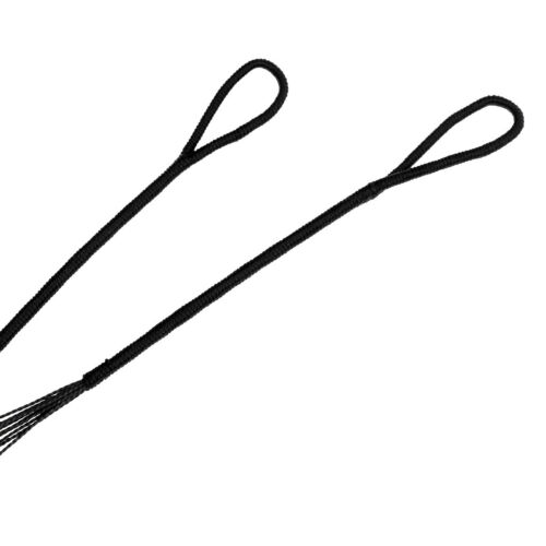 """2Pcs Black 53/"""" 56/"""" Dacron Bow String for Traditional Recurve Bow Bowstring"""