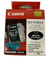 MS Imaging Supply Compatible Inkjet Cartridge Replacement for Canon BCI-10 Black, 4 Pack