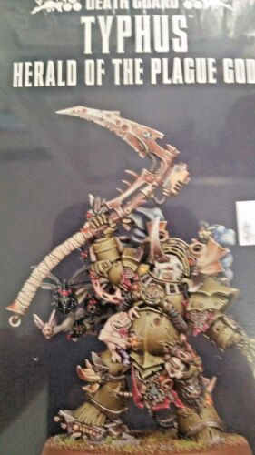 New WH40K Chaos Space Marine DEATH GUARD TYPHUS HERALD OF THE PLAGUE GOD