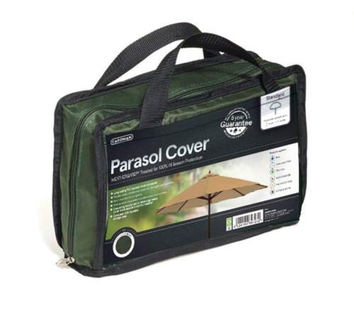Gardman Parasol Cover Green Waterproof Premium Heavy Duty Garden Furniture