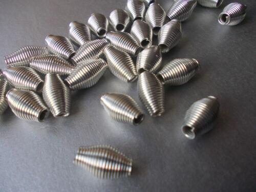 Elige El Color-Plata Paquete De 10 O 20 primavera de alambre en espiral granos Oro O Bronce