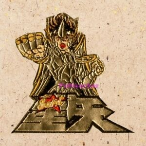 Details About Saint Seiya Golden Armor Patch Cartoon Anime Manga Knights Of Zodiac Embroidered