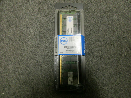 Brand New!! Dell SNPX1564C//4G 4GB DDR2 PC2-3200 400MHz ECC REG RAM