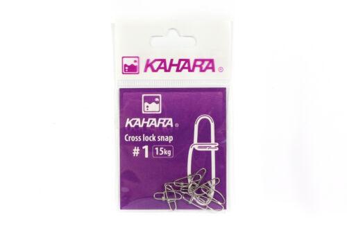 0676 Kahara Cross Lock Lure Snap Size 1
