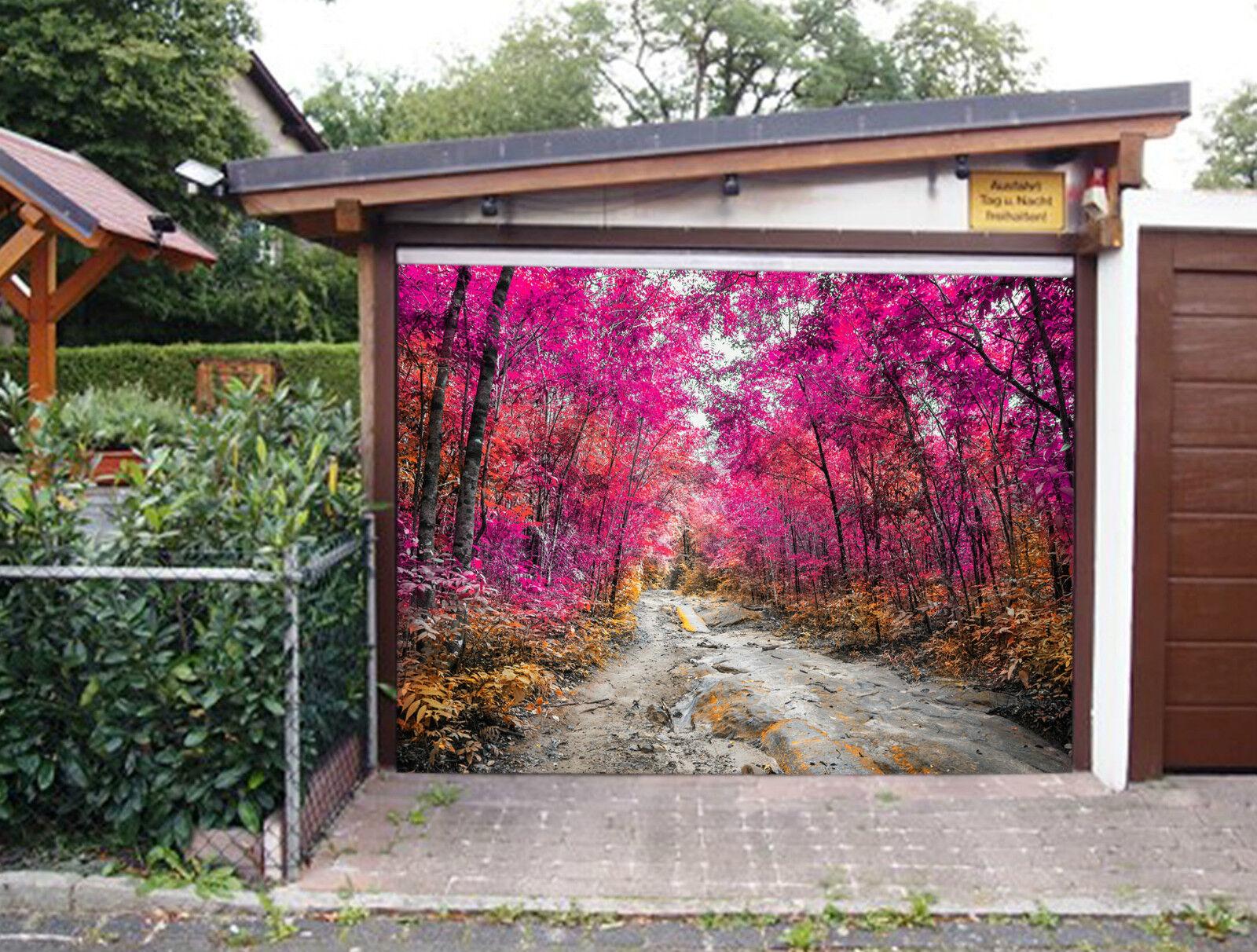 3D color Forest 99 Garage Door Murals Wall Print Decal Wall Deco AJ WALLPAPER IE