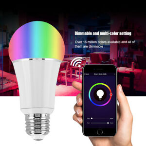 LX-FA-E27-E26-B22-E14-WiFi-Smart-LED-Light-Bulb-Wireless-Remote-Control-RGBW