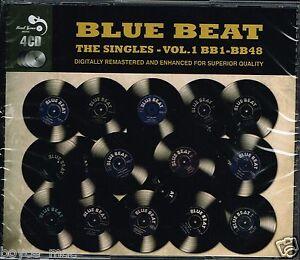 CD-VARIOUS-blue-beat-the-singles-volume-1-4-CD-set-new-amp-sealed