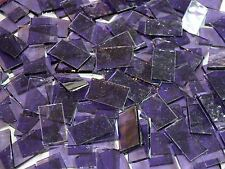 "50 1"" Purple Cathedral Stained Glass Mosaic Tiles"