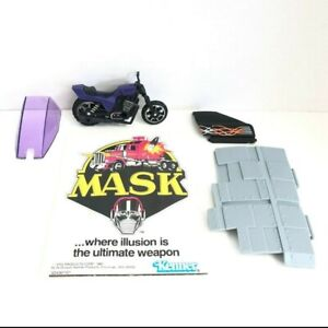 Kenner-MASK-Lot-Poster-Piranha-Incomplete-Parts-amp-Accessories-M-A-S-K-Vintage