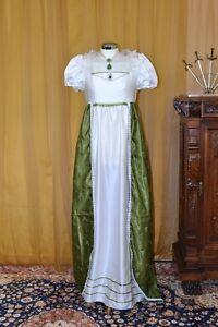 Abito-Storico-Costume-di-Scena-Abito-d-039-Epoca-Costume-Stile-1800-cod-1800