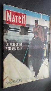 Rivista Parigi Match N° 344 Rivista Settimanale 12 Novembre 1955 ABE