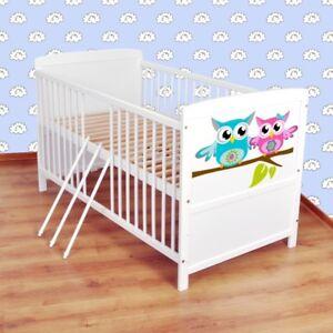 Babybett-Kinderbett-Juniorbett-umbaubar-120x60-Weiss-nr-34