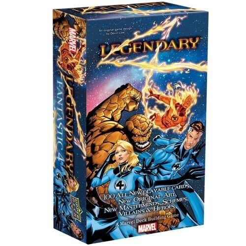 Marvel Legendary Fantastic Four UPPER DECK CARD GAME NEW SEALED