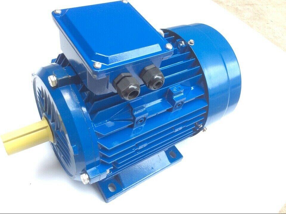 Drehstrommotor T80A, 0,75KW, 400V, 3000U min, B3, Elektromotor