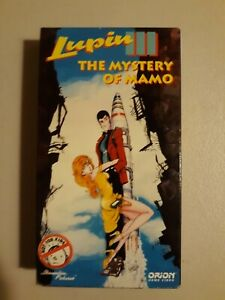 Lupin-III-The-Mystery-of-Mamo-VHS-Complete-Very-Good-Condition-Free-Shipping