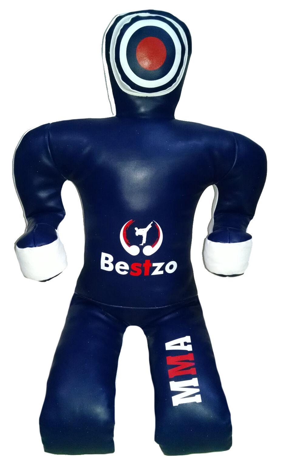 Bestzo MMA  Brazilian Wrestling Grappling Dummy Sitting Position blueee 70in (6 ft)  comfortable
