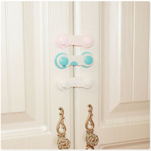 1x Baby Drawer Lock Kid Security Protect Cabinet Toddler Child Safety Lock PB