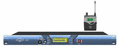 Professional UHF Wireless In Ear Monitoring System 1 Transmitter 1 Receiver