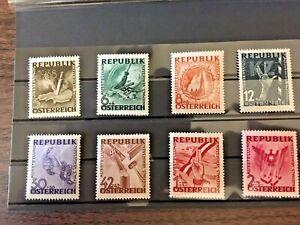 AUSTRIA 1940 - Exhibition NEVER FORGET - COMPLETE SET - MINT/NH