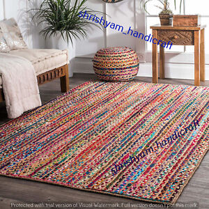 Bohemian 100 Jute Cotton Room Carpet