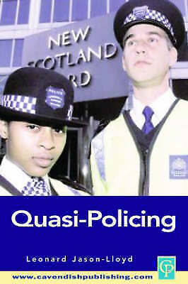 1 of 1 - USED (GD) Quasi-Policing