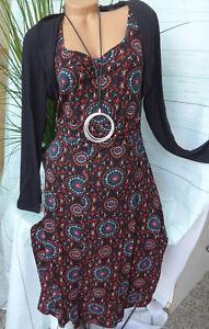 Joe-Browns-Jersey-Stretch-Dress-Size-40-58-034-Layered-Look-New