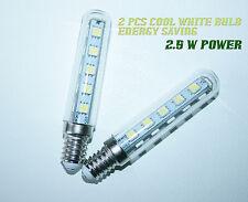 2 x 2,5 W LED LAMPADINA PER Gamma Cappa Scarico Da Cucina Kitchen COOL WHITE