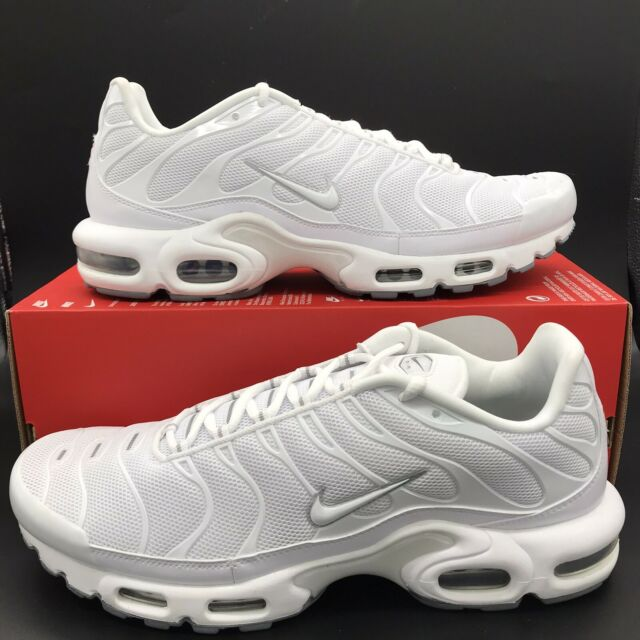 Desilusión una taza de Consulado  Nike Air Max Plus Athletic Shoes for Men, Size 12US - White for sale online  | eBay