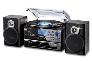 musikcenter mit cd brenner u encoding musikanlage platte soundmaster 4850 ebay. Black Bedroom Furniture Sets. Home Design Ideas