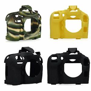 Cuerpo-de-Camara-de-Silicona-Suave-Carcasa-Protectora-Skin-proteger-Marco-de-piel-para-Nikon-D800