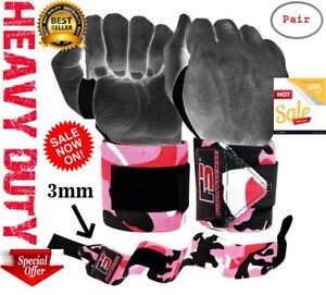 Wrist-Wraps-LIFTING-STRAPS-for-POWER-LIFTING-Support-CROSSFIT-Gym-WEIGHT-LIFTING