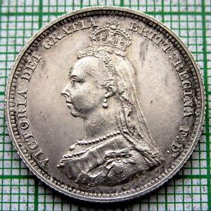 GREAT-BRITAIN-QUEEN-VICTORIA-1887-JUBILEE-SHILLING-SILVER
