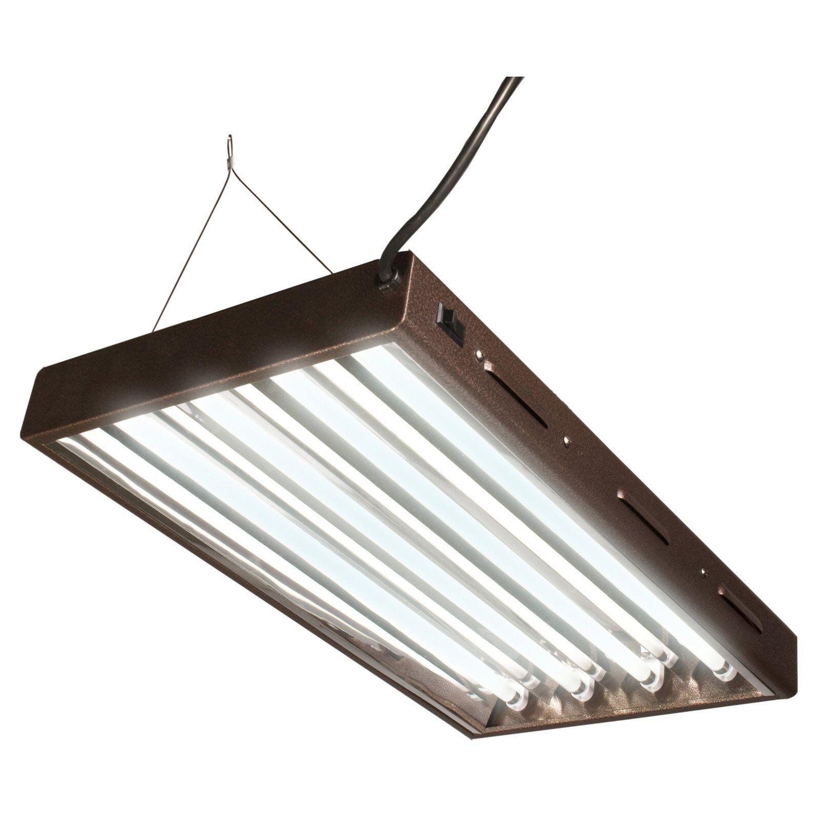 IMPIANTO di propagazione idroponica Grow Light t5 TUBO CFL a BASSO CONSUMO ENERGETICO Lightwave