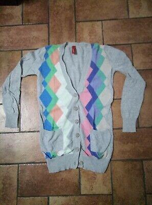 Vero Moda Pullover S M L XL Verde Scuro Maglione Oversized Extra Morbido NUOVO