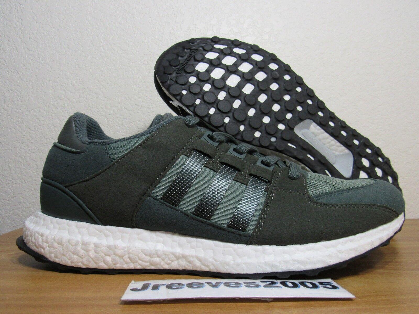 finest selection 22248 0c6d4 adidas Mens Originals EQT Support Ultra Shoes Trace Green/utility Grey -  Bb1240 10
