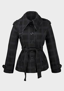 Ladies-High-Fashion-Over-sized-collar-Jersey-Coat