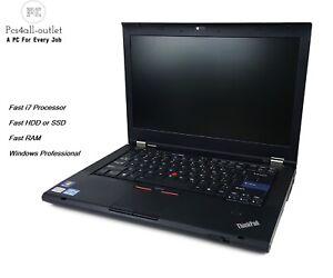 Fast-Lenovo-T420-i7-2-7GHz-16GB-500GB-SSD-Windows-7-10-PC-Laptop-Pro-MS-Office
