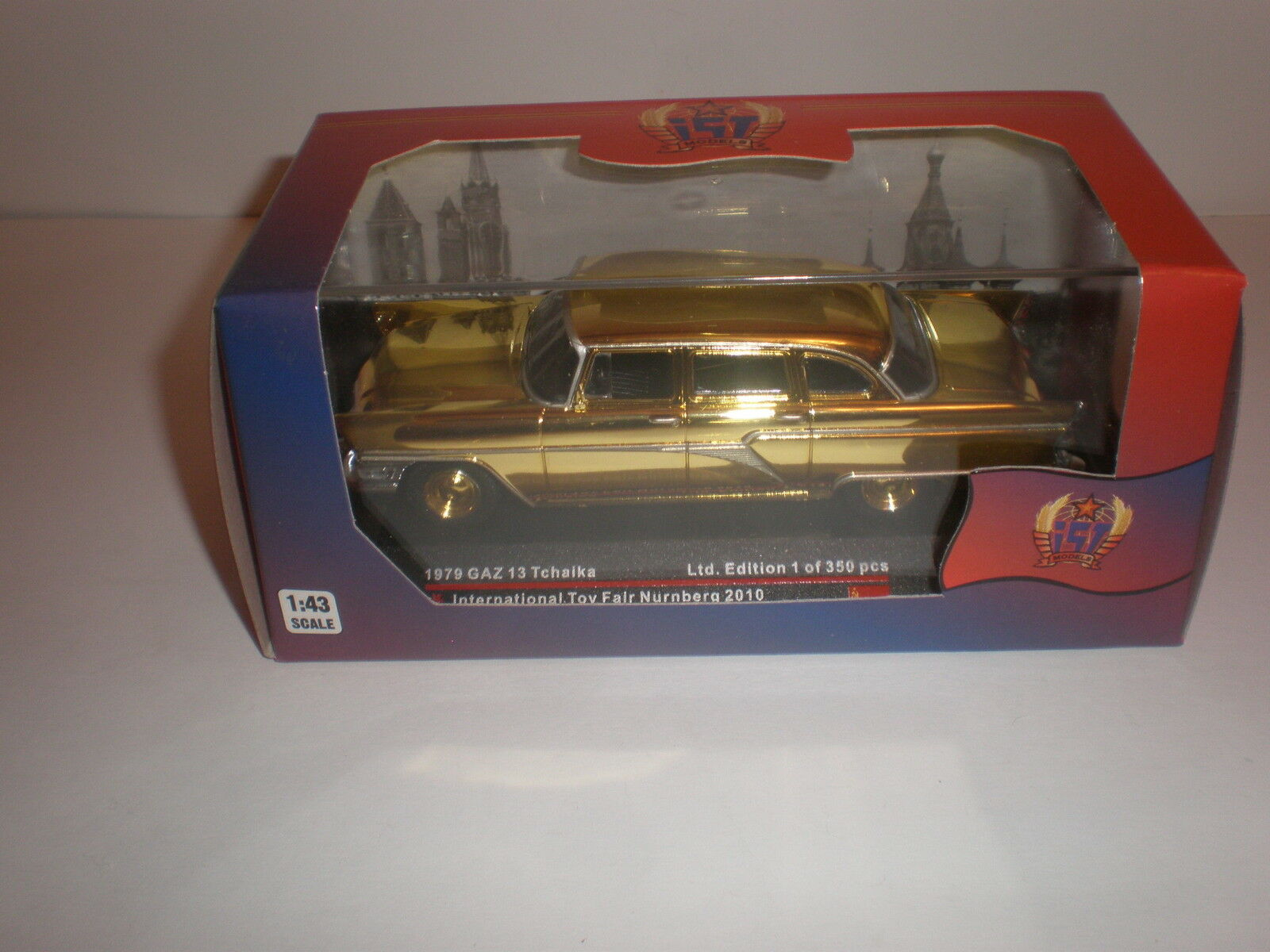1 43 1979 GAZ-13 Tchaika  Intrnational Toy Fair Nurnberg 2010  Limited 350pcs.