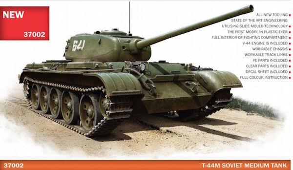Miniart 1 35 Soviet T-44M Tank