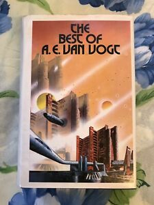 The-Best-of-A-E-Van-Vogt-by-A-E-Van-Vogt-1974-Hardback-First-Edition