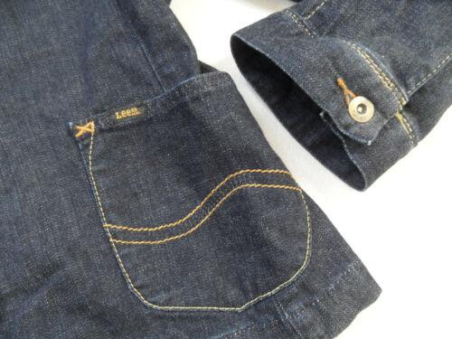 Lee Blau Retrostil Zc219 Dunkler Jeansblazer GrM Top Cooler zVpGUMqS