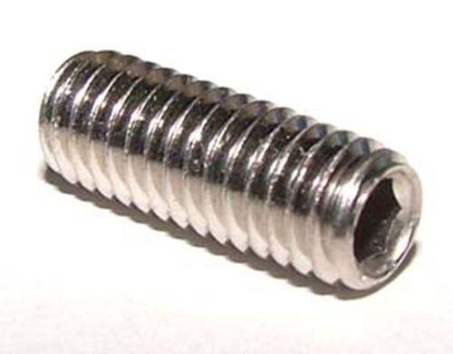 8mm x 8mm Cup Point Socket Grub Screw x10 M8 x 8 Stainless Grub Screws