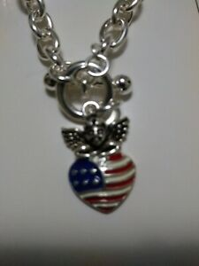 Icon-Patriotic-USA-Angel-Bracelet-Flag-Heart-Red-White-and-Blue